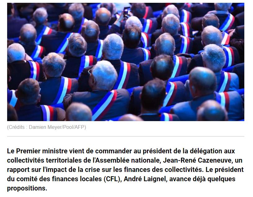 Mission finances locales - La Tribune