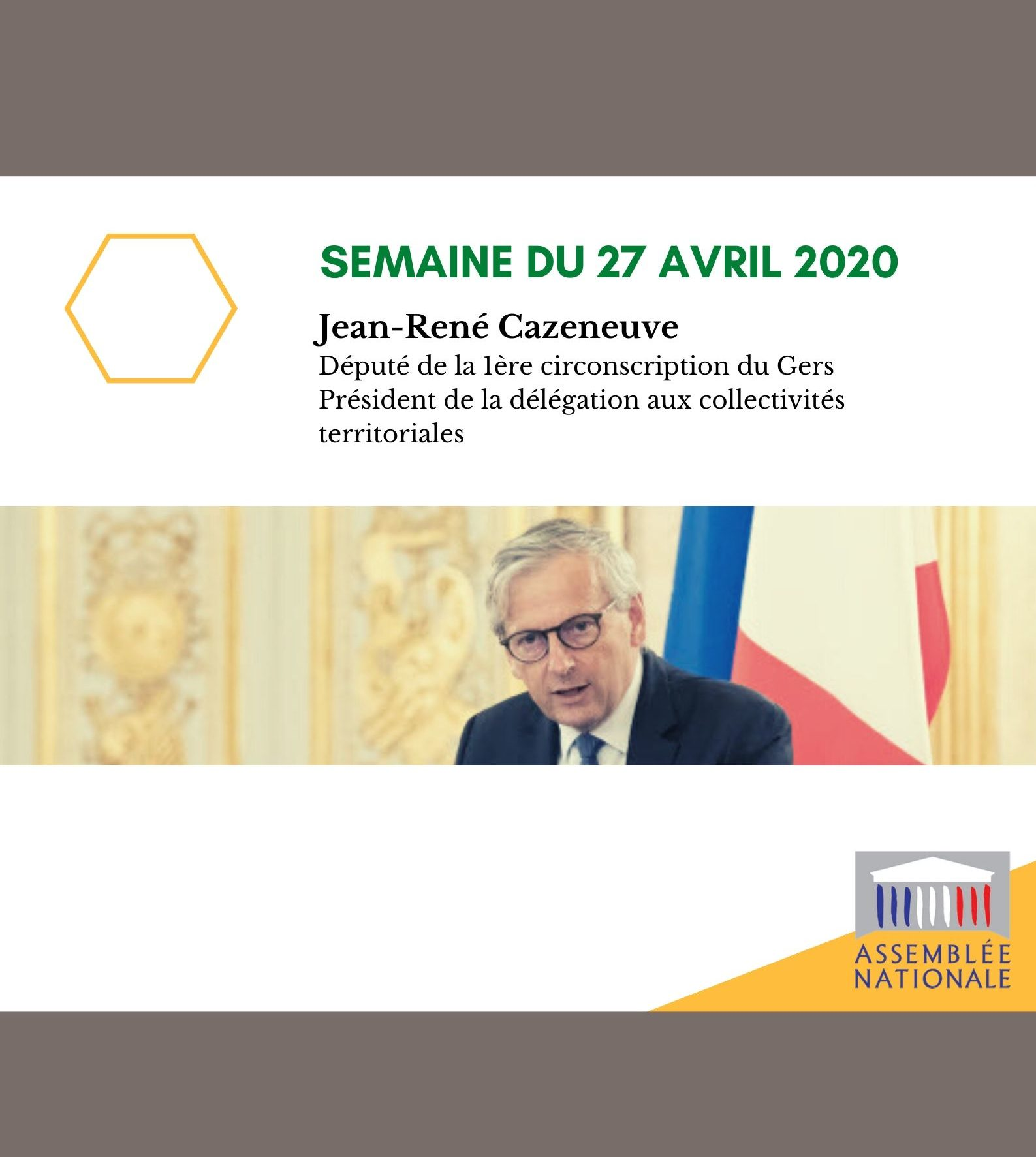 Semaine du 27 avril 2020