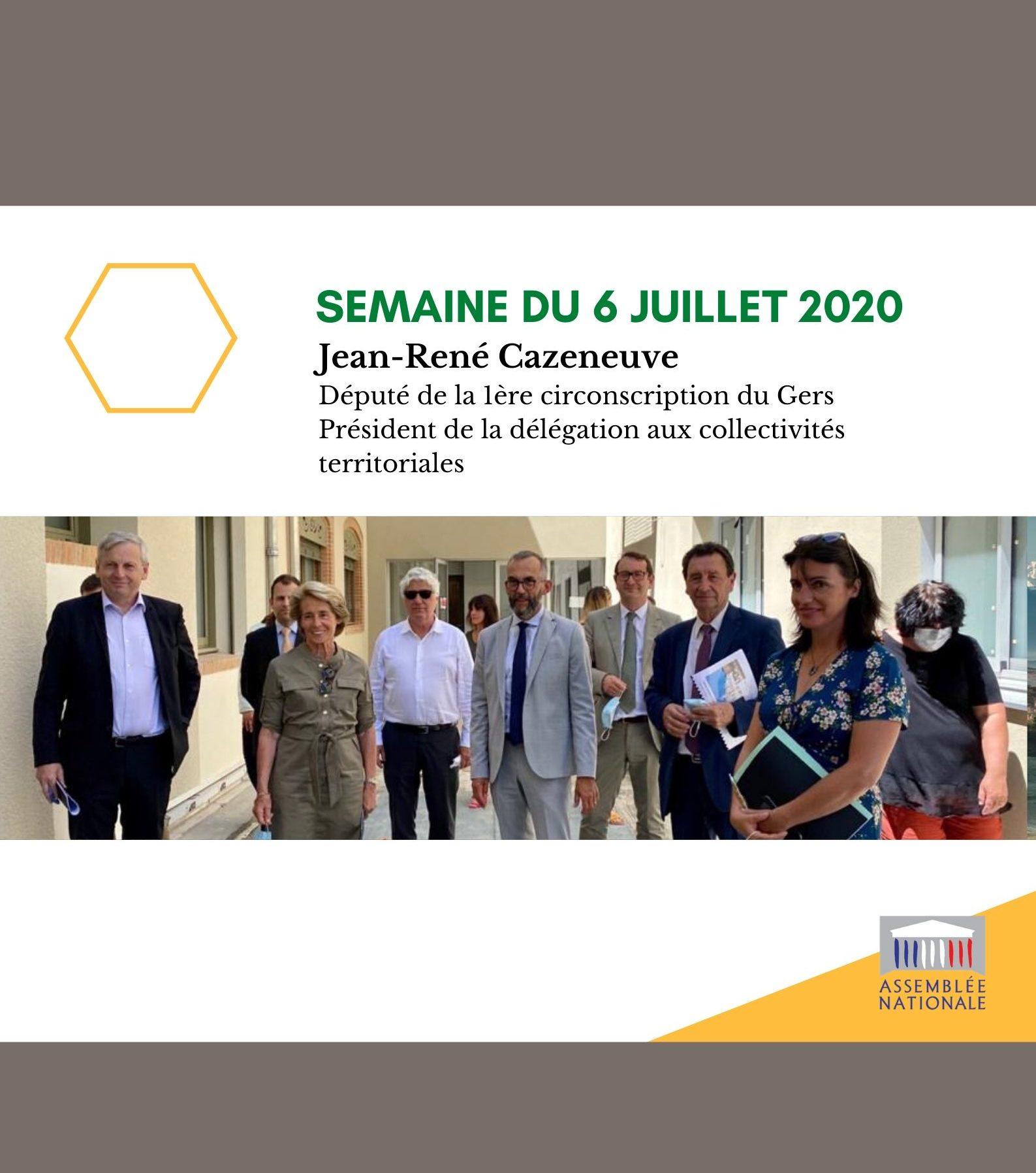 Semaine du 6 juillet 2020