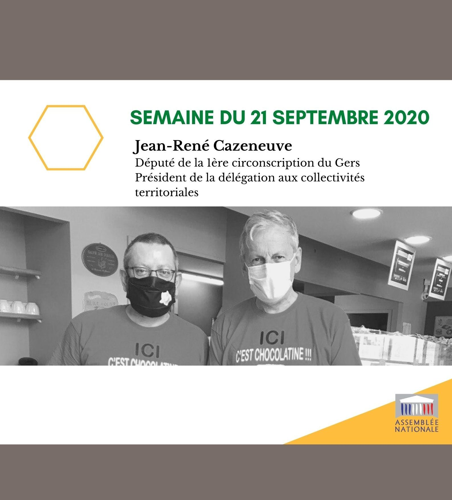 Semaine du 21 septembre 2020