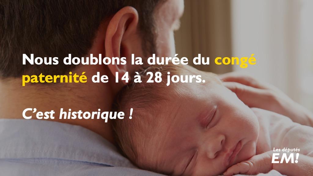 Doublement du congé paternité : une avancée historique pour les familles