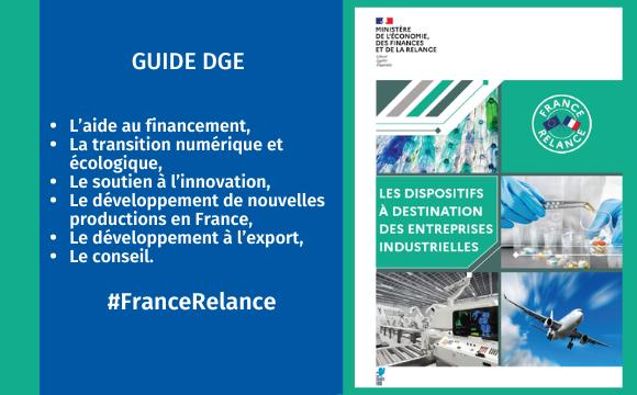Plan de relance : un guide à destination des entreprises industrielles