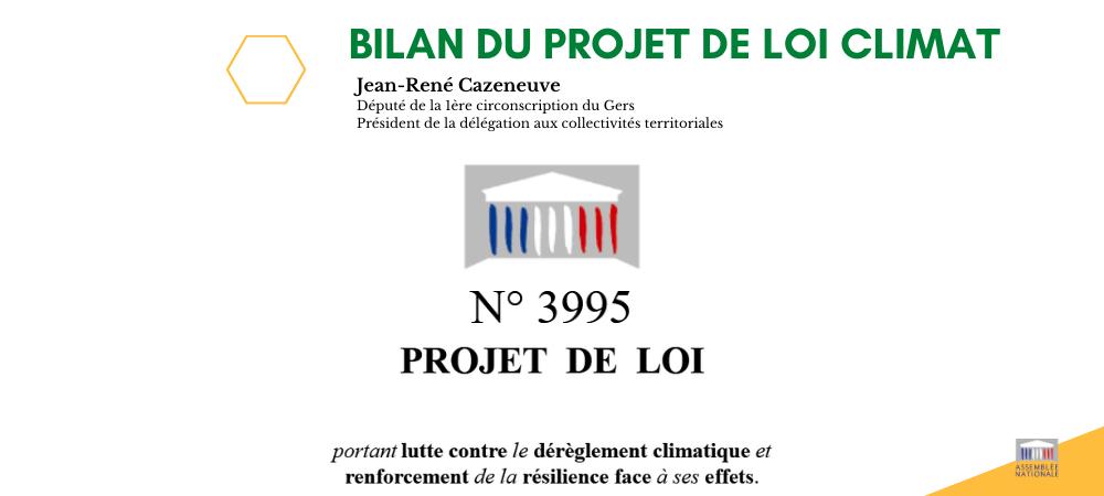 Fin de l'examen du projet de loi Climat à l'Assemblée Nationale : on fait le bilan