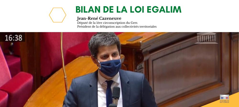 Semaine de contrôle à l'Assemblée Nationale : débat sur le bilan d'EGALIM