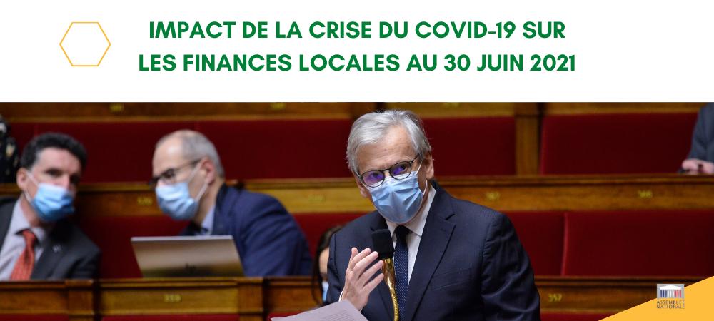 Baromètre n°5 - Impact de la crise du COVID19 sur les finances locales au 30 juin 2021