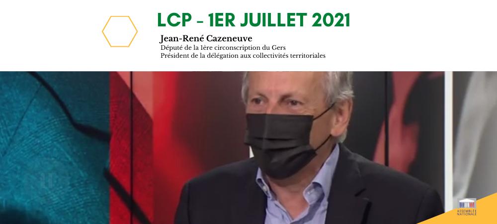 Invité de LCP pour parler du réchauffement climatique - 1er juillet 2021
