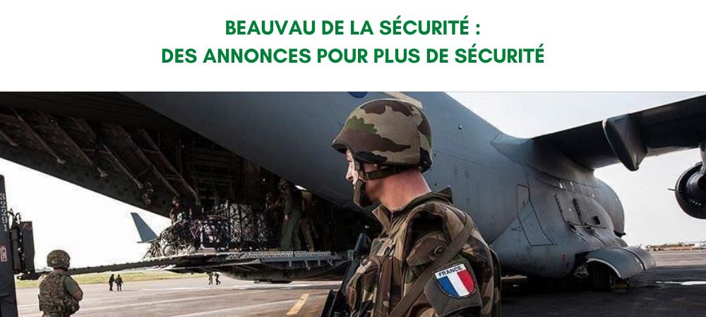 Fin du Beauvau de la Sécurité : des annonces pour davantage de sécurité en France !