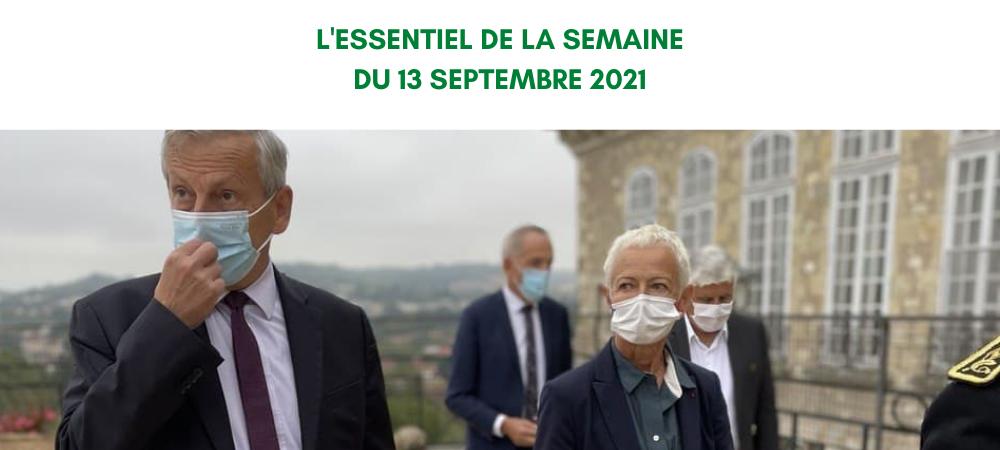 Semaine du 13 septembre 2021