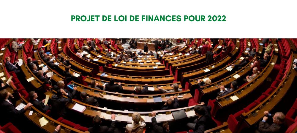 Présentation du projet de loi de finances pour 2022 : un PLF pour une croisse durable