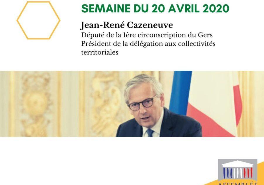 Semaine du 20 avril 2020