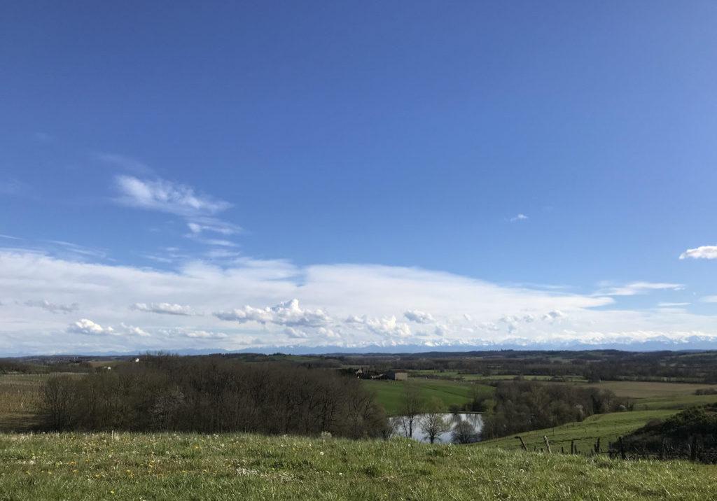 paysage Auch